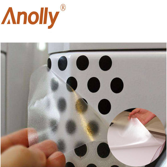 Anolly removable transparent transfer film tape for color vinyl