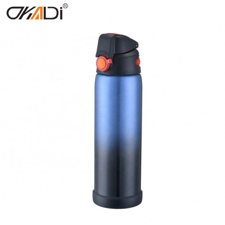 22Oz Kuangdi Wholesale Double Wall 18/8 Stainless Steel Thermoses Vacuum Flasks With Logo Printing