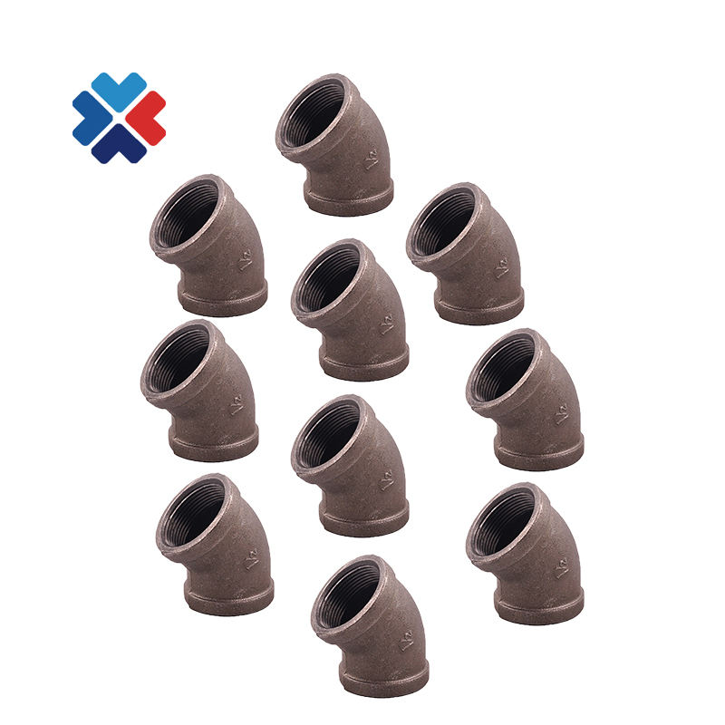 iron pipe fittings 45 degree elbow black iron pipe shelves black steel elbow 1/2 diy metal projects