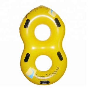 Wasserpark doppelrohr zwei person pool float