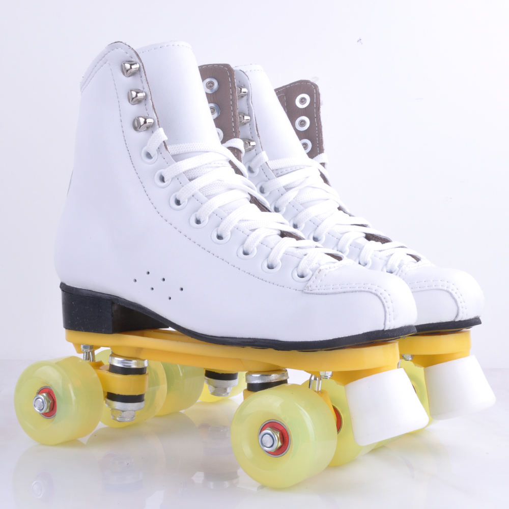 New arrival indoor rental rink quad roller skates for wen and women