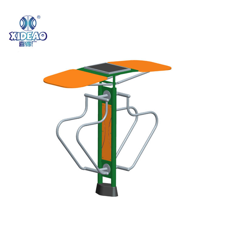 China Manufacturer Outdoor Playground Parallel Bars With Solar