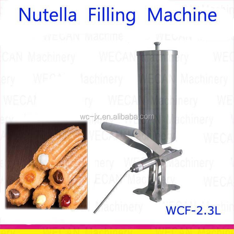 Commercial 5L Nutella Caramel Filler Dispenser Churro Filling Machine cream .