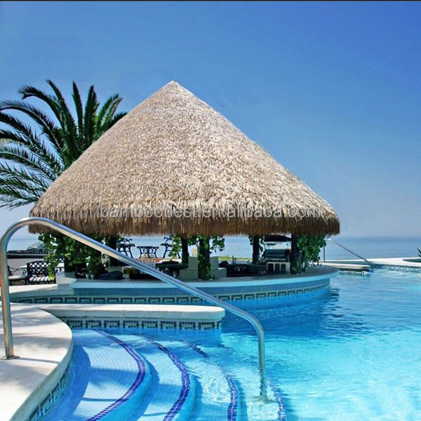 Palm Leaves Thatch Bali Huts Canvas Roof Material
