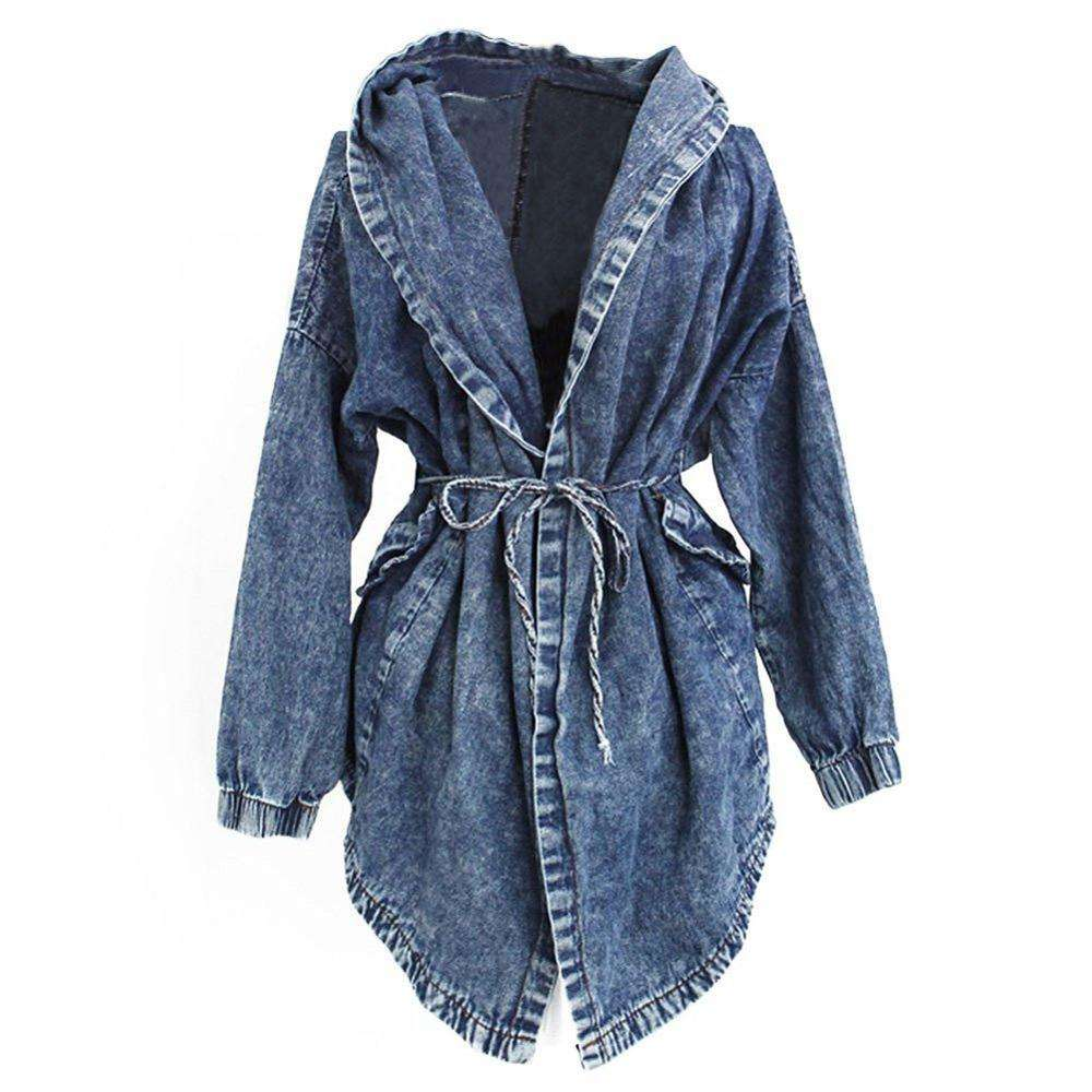 Newest Style Lady Jean Jacket Long Sleeve Woman Denim Jacket