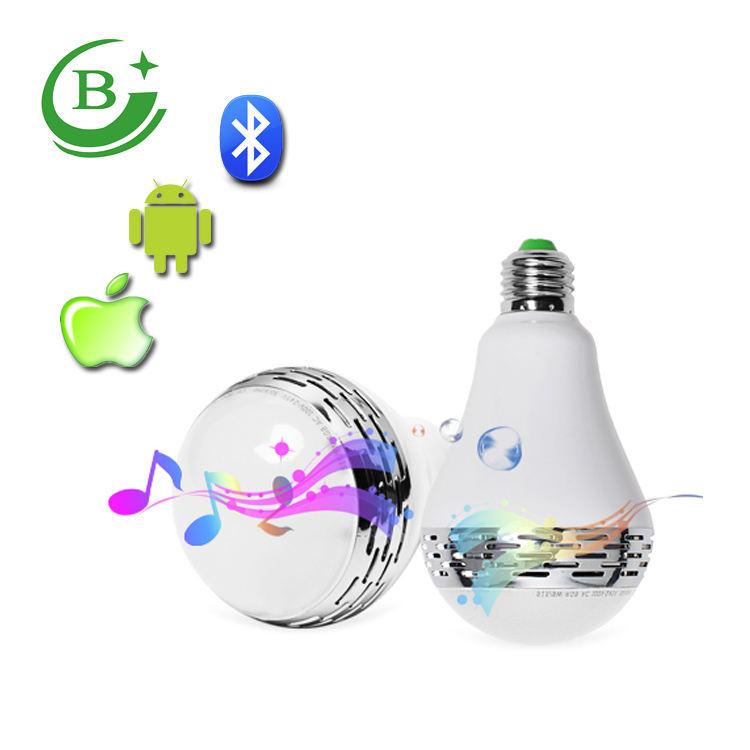 Colorido inteligente Bluetooth música 5050 E27 4 W bombilla led