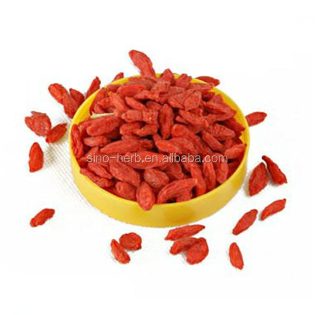 Organic Ningxia Goji China Wolfberry Natural Dried Organic Goji Berries