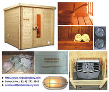 Heater, Fireplace for Sauna Marine and Offshore