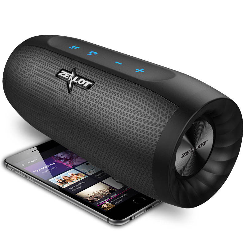 High End Outdoor Wireless Bluetooth Speaker With Powerbank Zealot S16