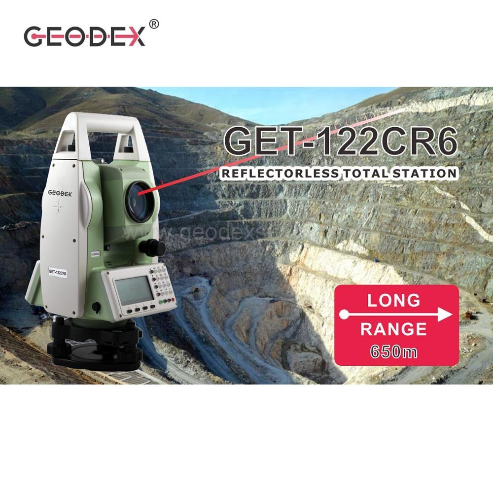 High Precision Electronic Total Station with 650m Reflectorless Measuring Distance for construction surveying