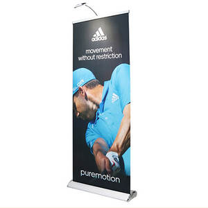 Hoge kwaliteit roll up banner stand, pull up display voor reclame