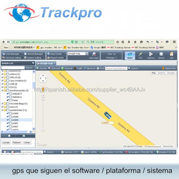 GPS plataforma de seguimiento en vivo compatible con GV200, GMT100, GV200G, <span class=keywords><strong>GV300</strong></span>