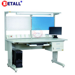 electronics dental lab repair technician esd work table with computer