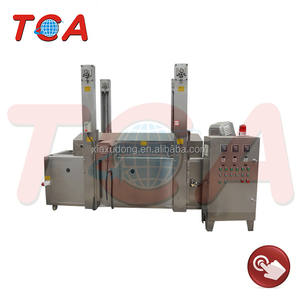 automatic potato chips/stick continuous frying machine