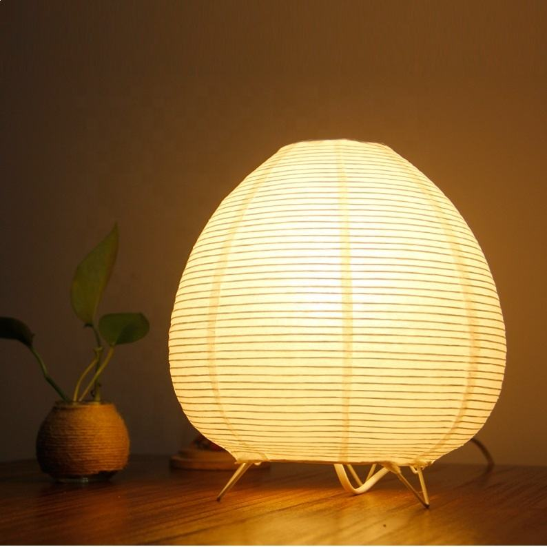 Japanese lantern nordic style soft paper art lampshade modern floor lamp wholesale rice paper floor lamp