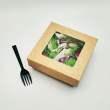 Cardboard Fast Food Packing Paper Disposable Food Box