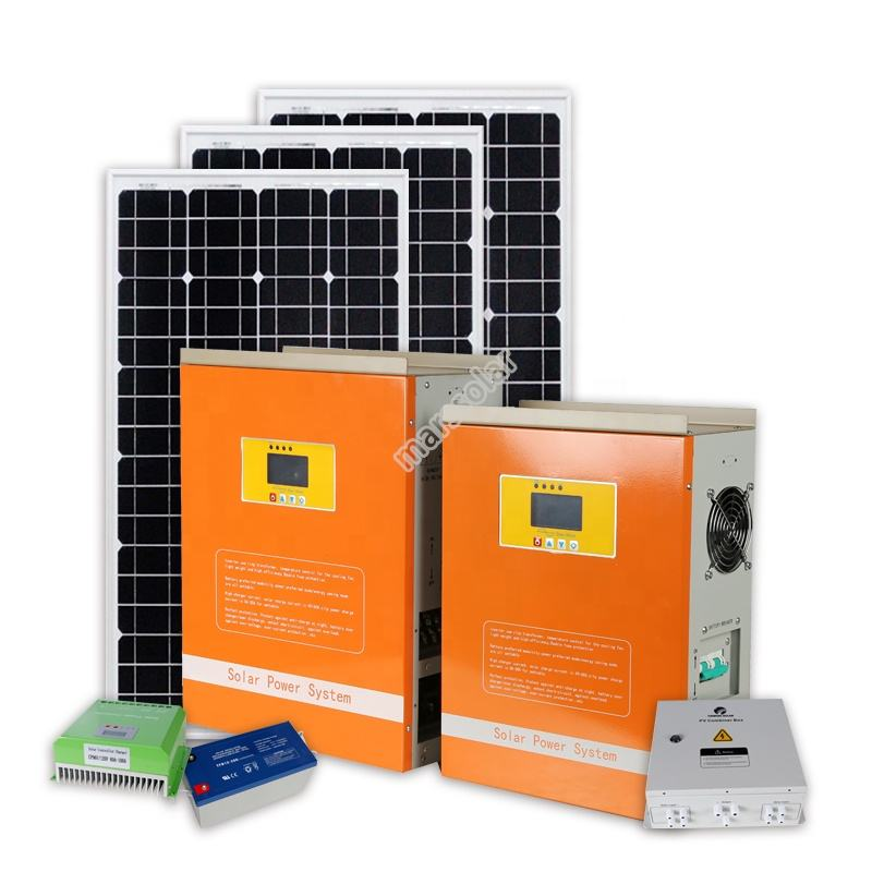 solar power system home 10kw 10kva 10000w solar energy system