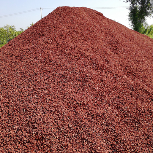 Stone Pebbles Red Color Gravel And Pebble Stone For Aquarium Landscaping For Sale