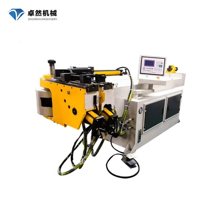 Zhuoran DW63NC Automatic hydraulic Single-head tube bender manufacturer pipe bending machine