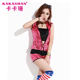 China factory wholesale stage dance wear hip hop sequin sleeveless hoodie