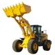 ISO and CE marked 5Ton front bucket wheel loader for sale