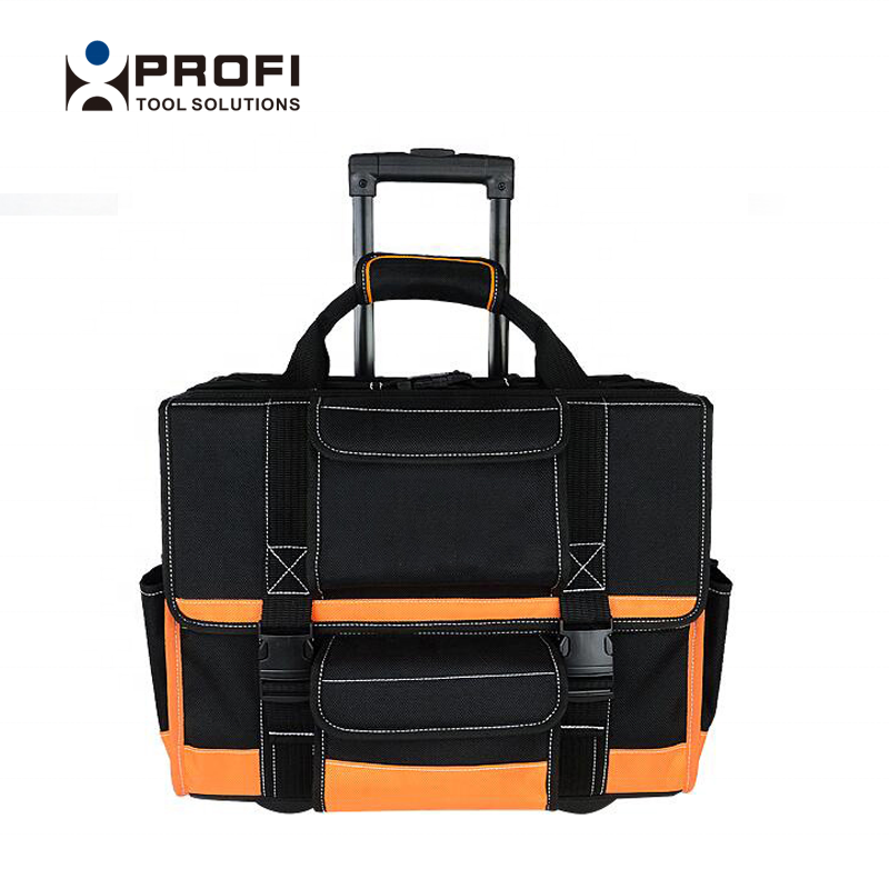 Pro Quality Customized Colour Portable Canvas Hard Bottom Heavy Duty Tool Bag