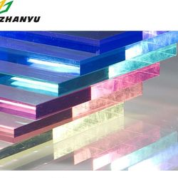 Transparent Colourful Decorative Acrylic Sheet Factory Price Free Available