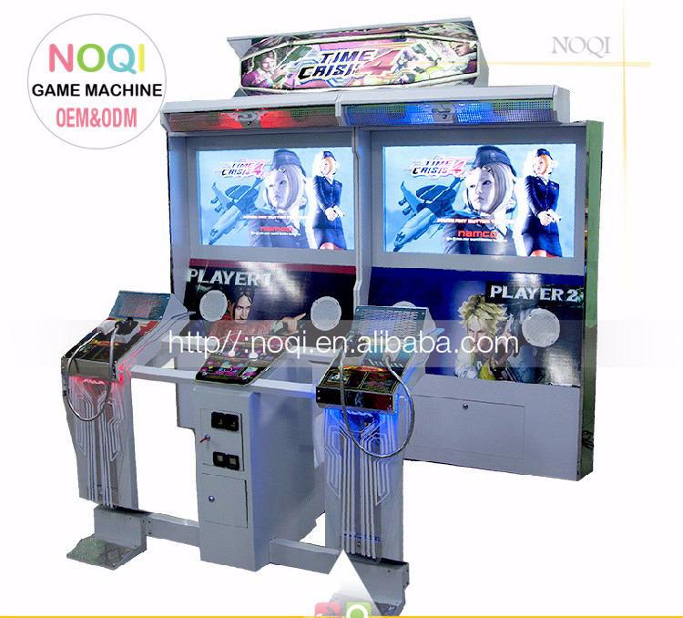China Fabrik verkauf arcade münz time crisis 4 schießgewehr spielmaschine