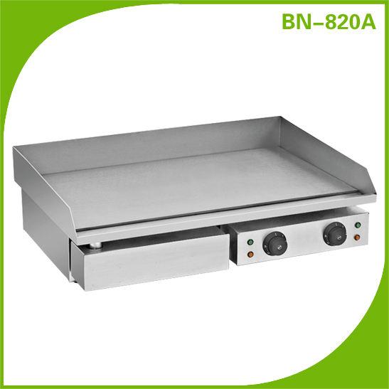 Jdl-c30a2comercial indução contador elétrico topo plano grelha de ferro fundido bn-820