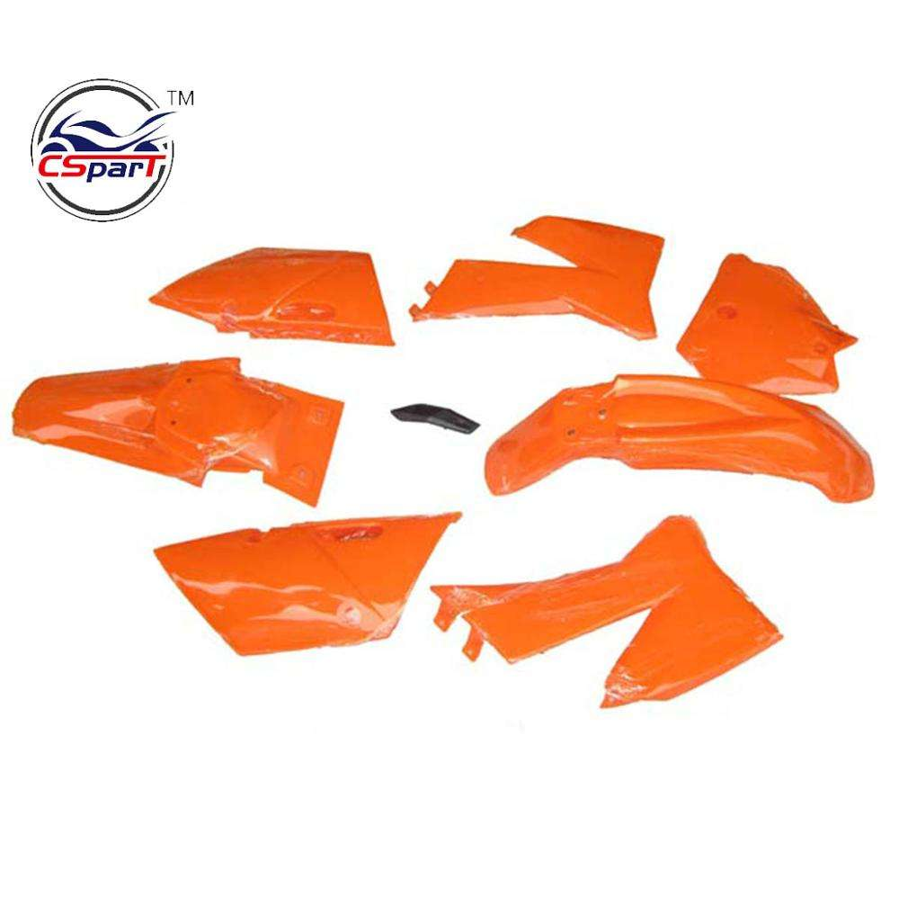 Plastic Fairing Kit Fender Plate Guard Cover for KTM 125 250 300 380 400 520 EXC 2001-2002