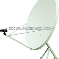 TV satellite dish antenna
