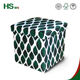 HStex wholesale colorful ottoman fabric foldable storage ottoman