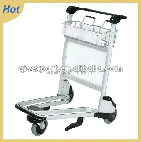 Aluminium Hand Luchthaven Bagage Trolley