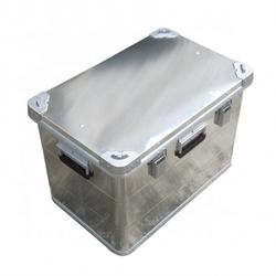 Custom waterproof large aluminum storage box for boat