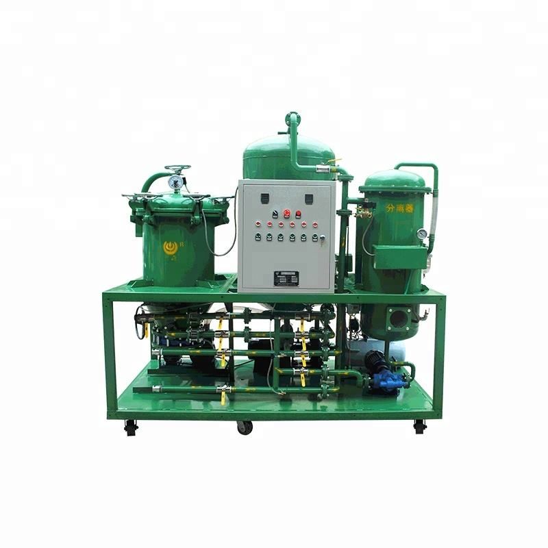RECYCLING OIL MACHINE/ Car motor engine oil purifier plant/ used lube oil recycling system