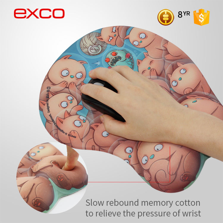 EXCO Best Selling DIY Boob Mouse Pad Wholesale rugs