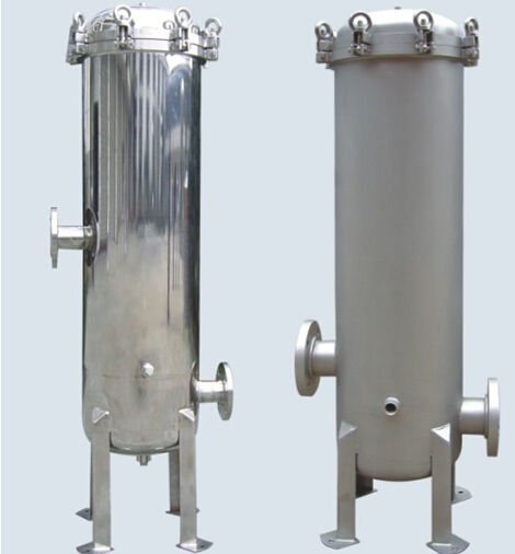 Rvs 40 inch 5 micron pp cartridge filter behuizing