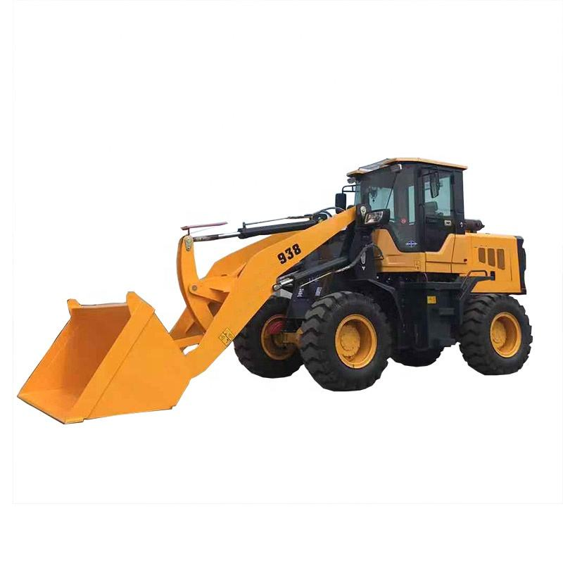 High Quality Hydraulic control wheel Skip steer loader