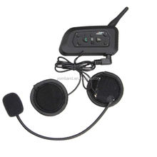 Motorcycle Helmet Headset Intercom for Motorbike Skiing Handsfree  Range-1200M Intercom For Helmet