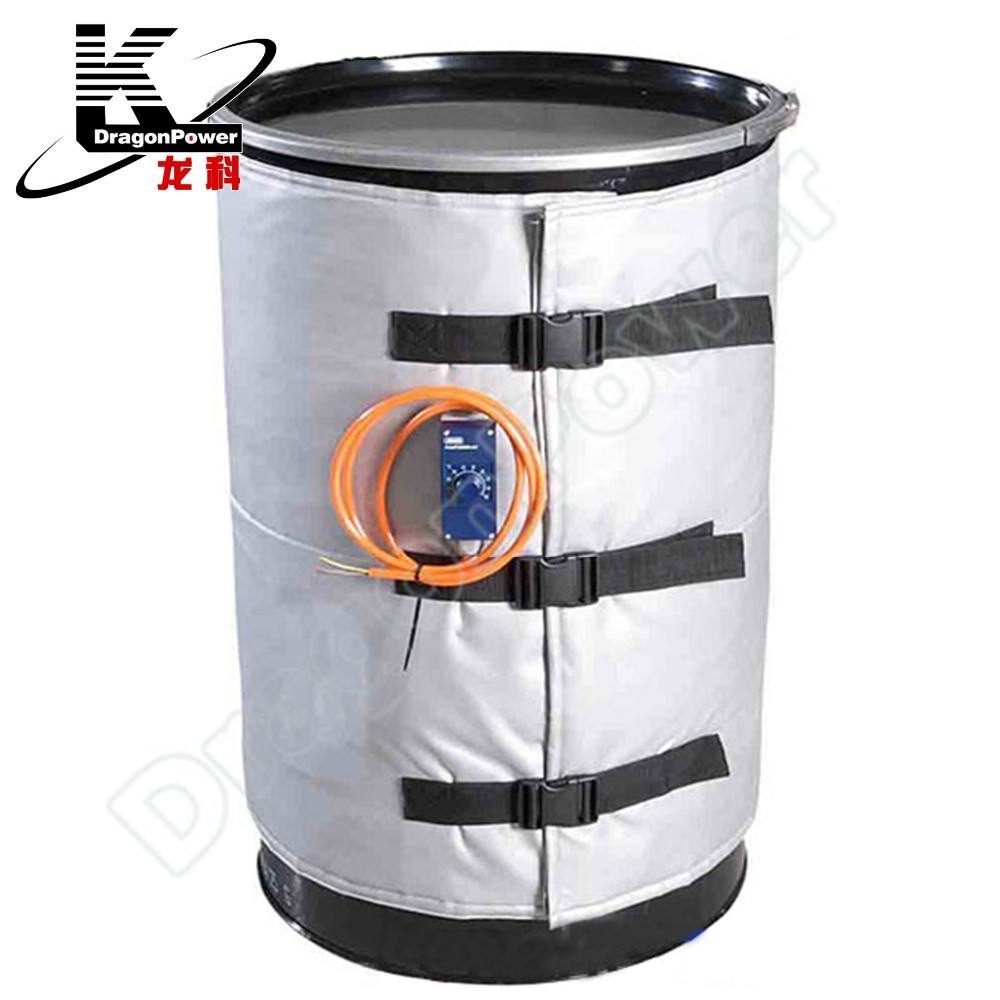Factory supply drum heated wrap with power cable