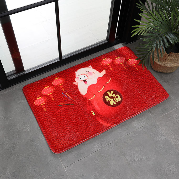 (CHAKME) Wholesale customized manufacture oversized outdoor front door welcome mat,entrance rugs doormats for homes