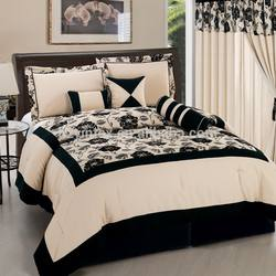 Luxury Elegant Wedding Bedding Set Silk Comforter Set