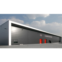 Good factory prefab steel structure warehouse building design