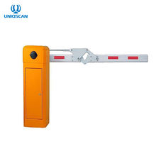 Security Boom Barrier Folding Safety Barriers Electric Boom Gate For Smart Parking System
