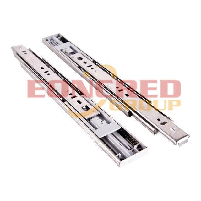 full extension ball bearing telescopic channel 45mm drawer slides