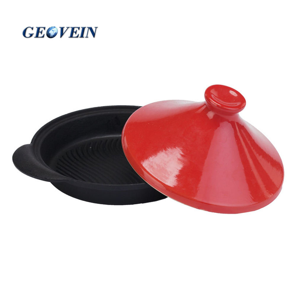 China supplier tagine cast iron hot pot for sale
