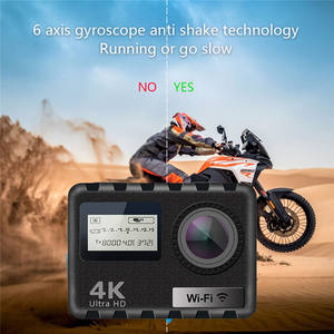 Free sample 4k wifi action camera be unique with best price