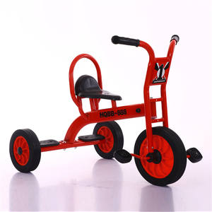 2019 factory directly sale kids metal 3 wheel tricycle /tricycle seat with backrest