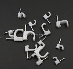 6 MM plastic muur kabel clips