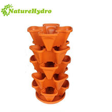 Hot sale vertical wholesale water saving plastic pots for nursery plants